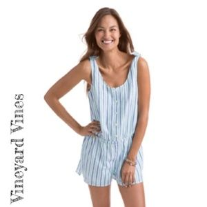 Vineyard Vines Stiped Romper